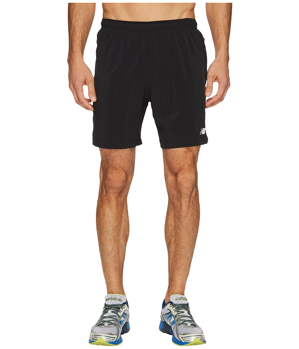 New Balance Impact 7 Shorts (Black) Men