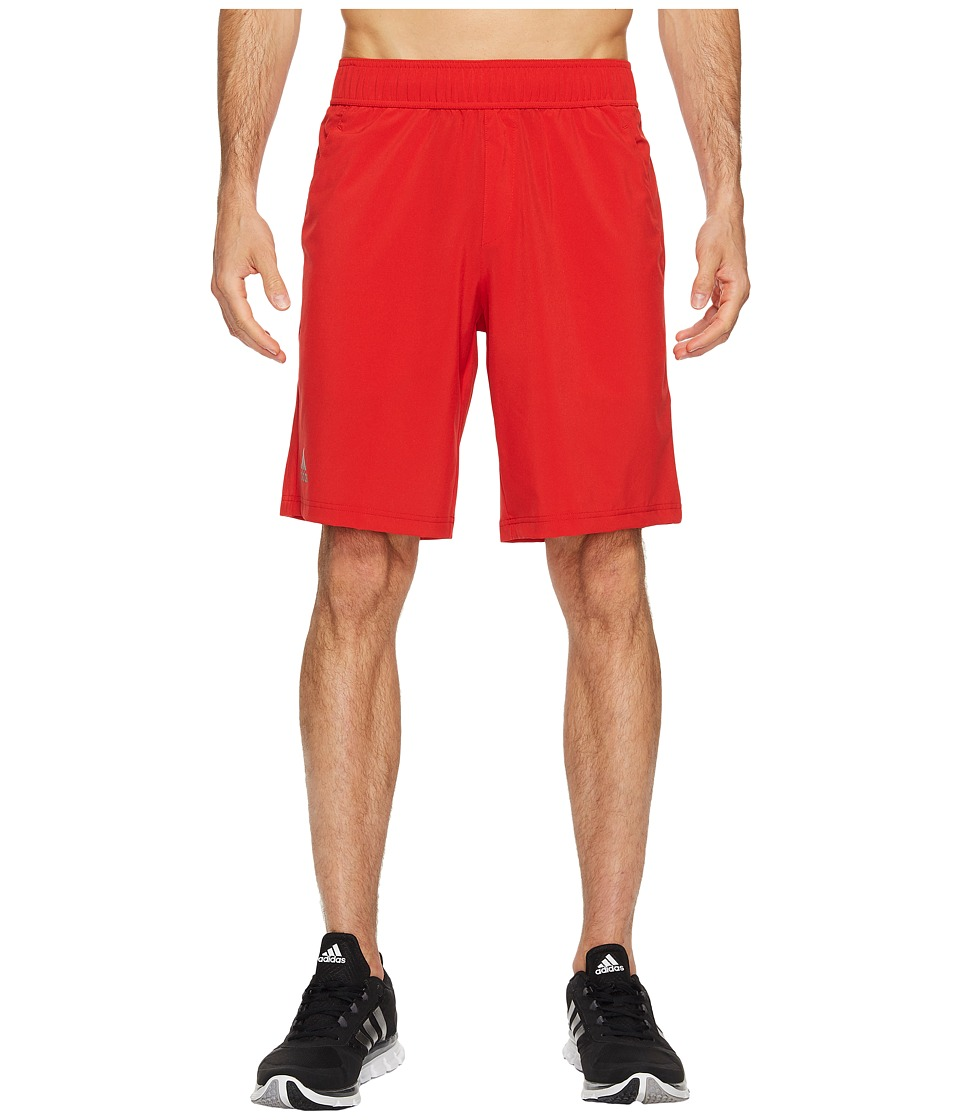 adidas - Essex Shorts (Scarlet/Onix) Men's Shorts