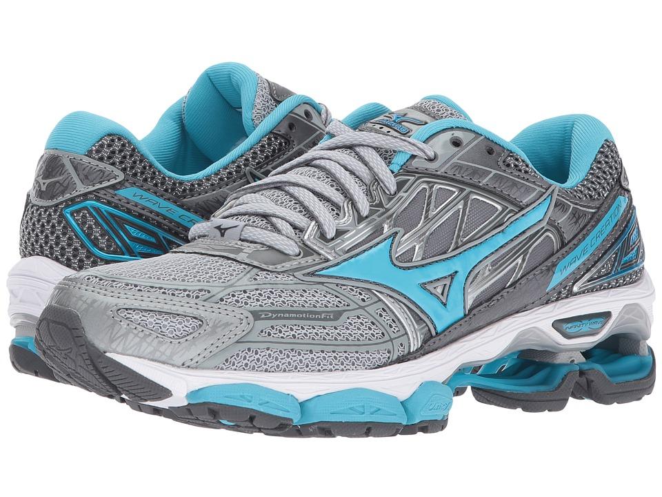 Mizuno Wave Creation 19 (High-Rise/Blue Atoll/Castlerock) Women's Running Shoes