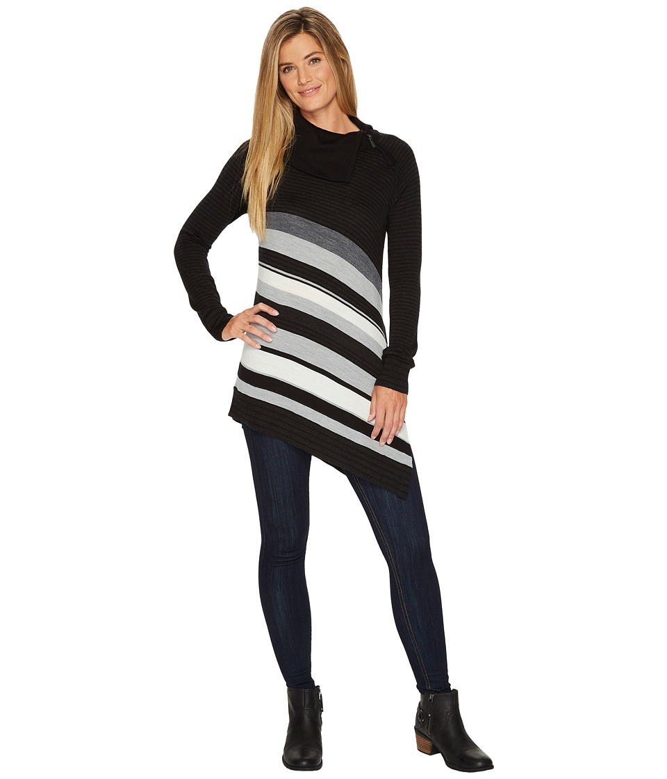 Smartwool Cascade Valley Asymmetrical Tunic (Black) Women