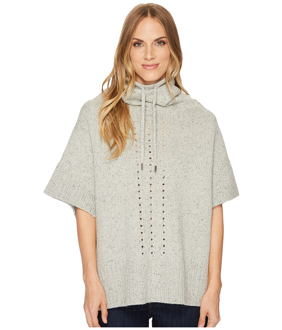 Smartwool Crestone Poncho (Winter White Donegal) Women's ...
