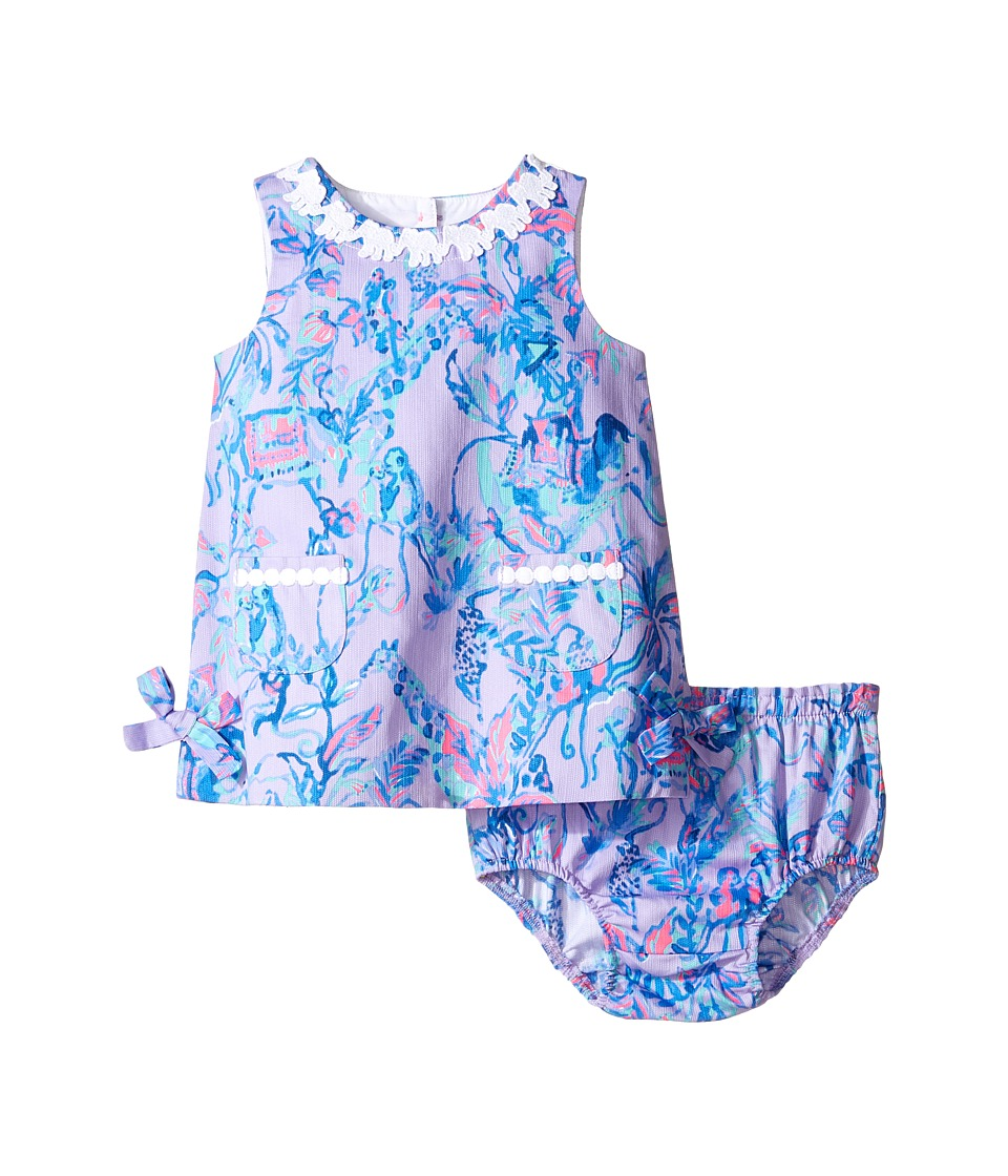 Lilly Pulitzer Kids Baby Lilly Shift (Infant) (Lilac Verben Fruity Monkey) Girl