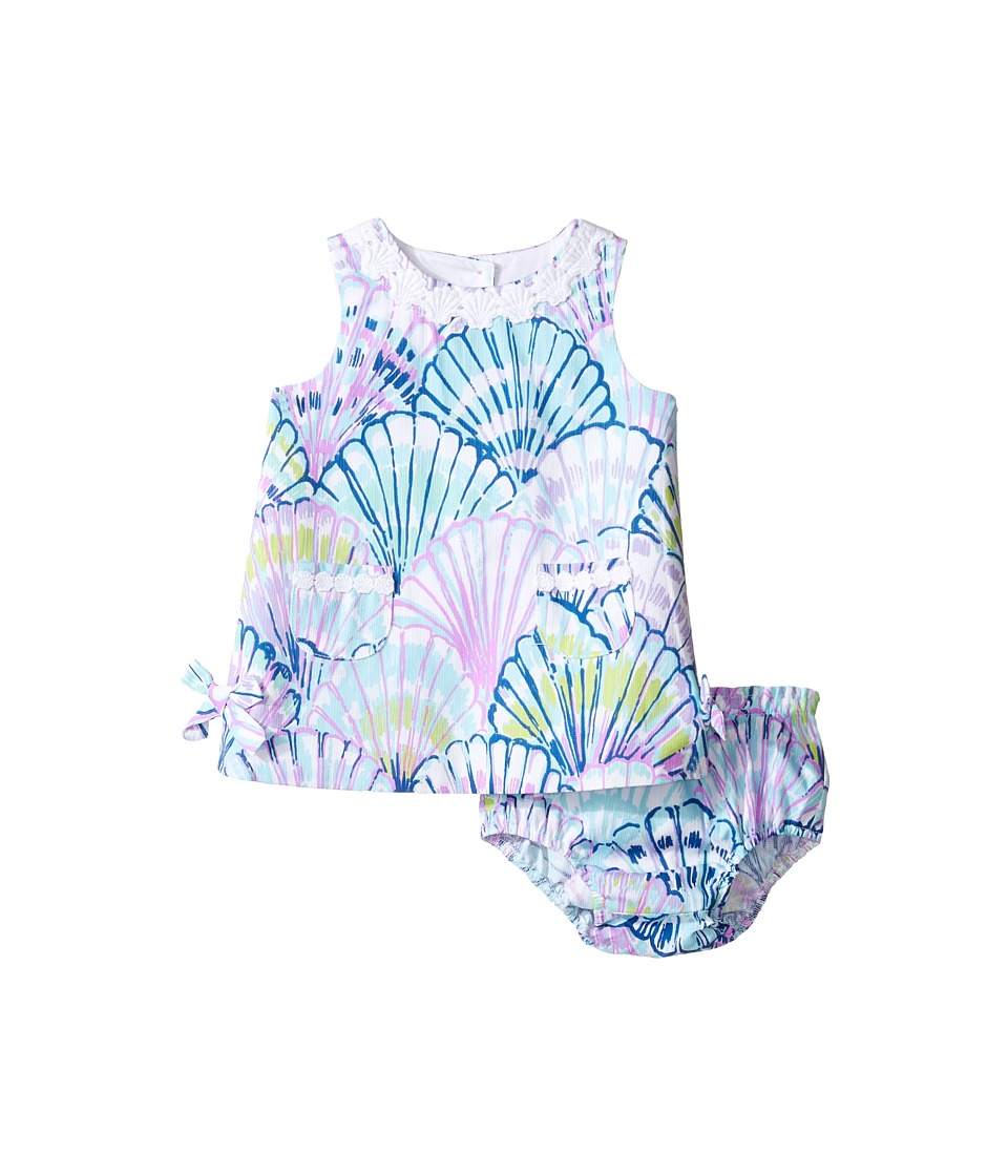 Lilly Pulitzer Kids Baby Lilly Shift (Infant) (Serene Blue Oh Shello) Girl