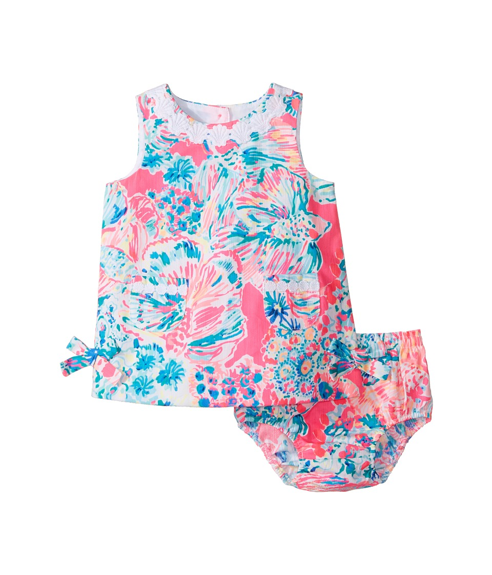 Lilly Pulitzer Kids Baby Lilly Shift (Infant) (Tiki Pink Gypsea Pink) Girl