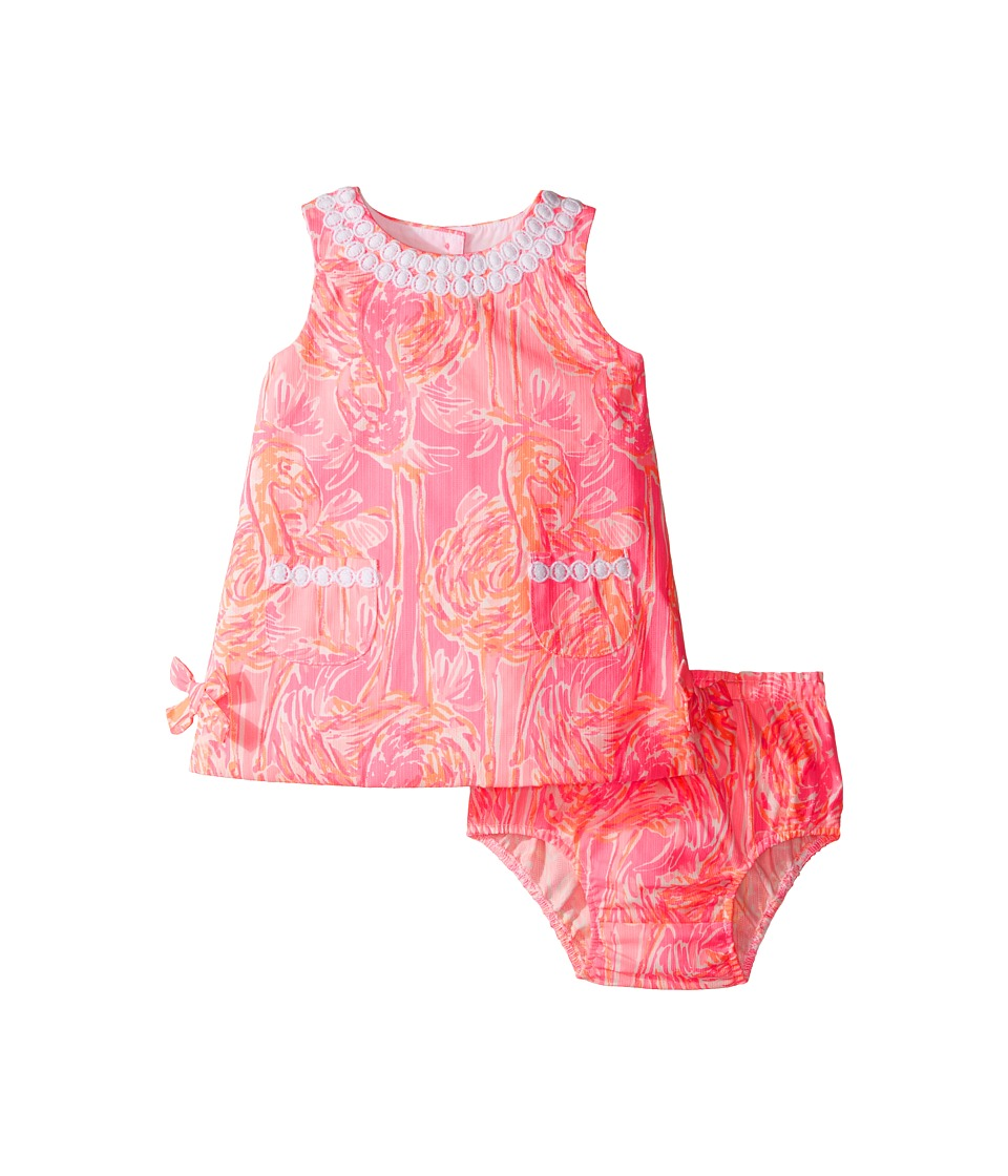 Lilly Pulitzer Kids Baby Lilly Shift (Infant) (Tiki Pink Tappin It Back Small) Girl