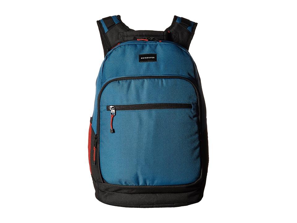 Quiksilver Schoolie Special Backpack (Moroccan Blue) Backpack Bags
