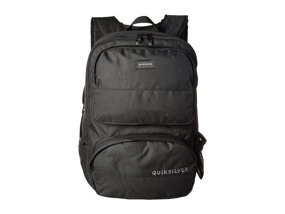 Quiksilver Wedge Backpack (Black) Backpack Bags