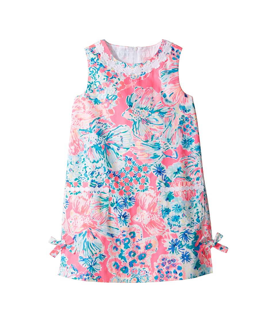 Lilly Pulitzer Kids Little Lilly Classic Shift (Toddler/Little Kids/Big Kids) (Tiki Pink Gypsea Pink) Girl