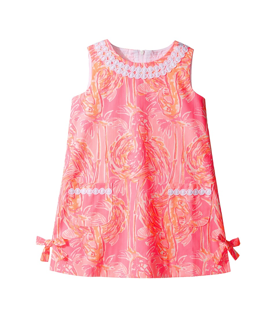 Lilly Pulitzer Kids Little Lilly Classic Shift (Toddler/Little Kids/Big Kids) (Tiki Pink Tappin It Back Small) Girl