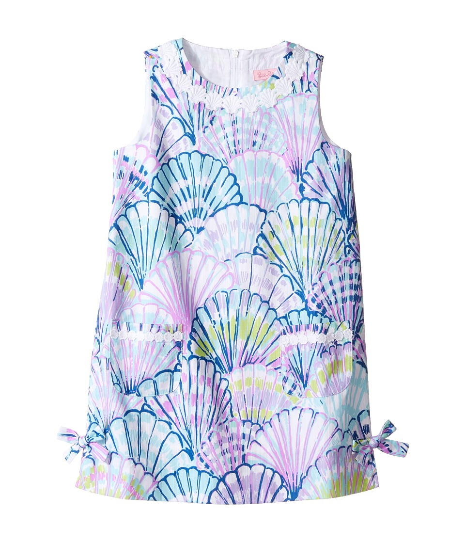 Lilly Pulitzer Kids Little Lilly Classic Shift (Toddler/Little Kids/Big Kids) (Serene Blue Oh Shello) Girl