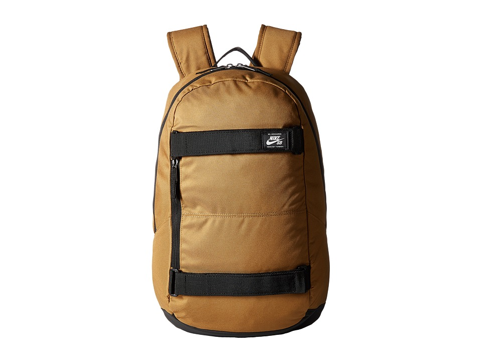 Nike SB Courthouse Backpack (Golden Beige/Black/White) Backpack Bags