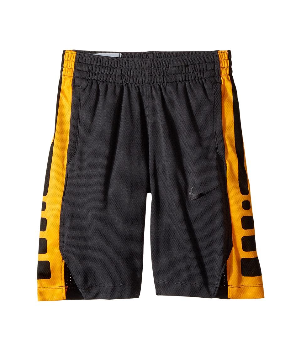 Nike Kids - Dry Elite Basketball Short (Little Kids/Big Kids) (Anthracite/Anthracite/Black/Black) Boys Shorts