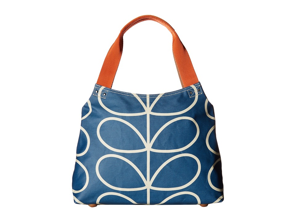 Orla Kiely Orla Kiely - Giant Linear Stem Classic Zip Shoulder Bag