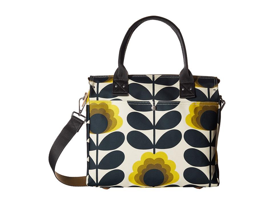 Orla Kiely Summer Flower Stem Zip Messenger (Sunshine) Me...