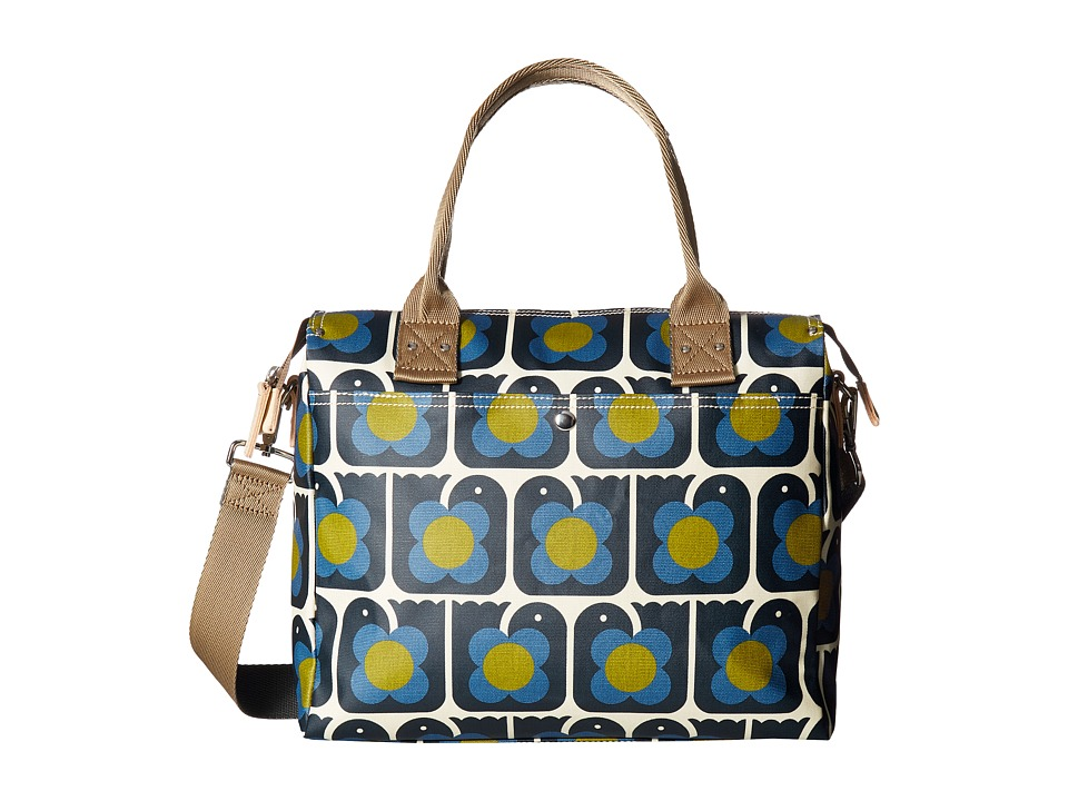 Orla Kiely - Love Birds Print Zip Messenger
