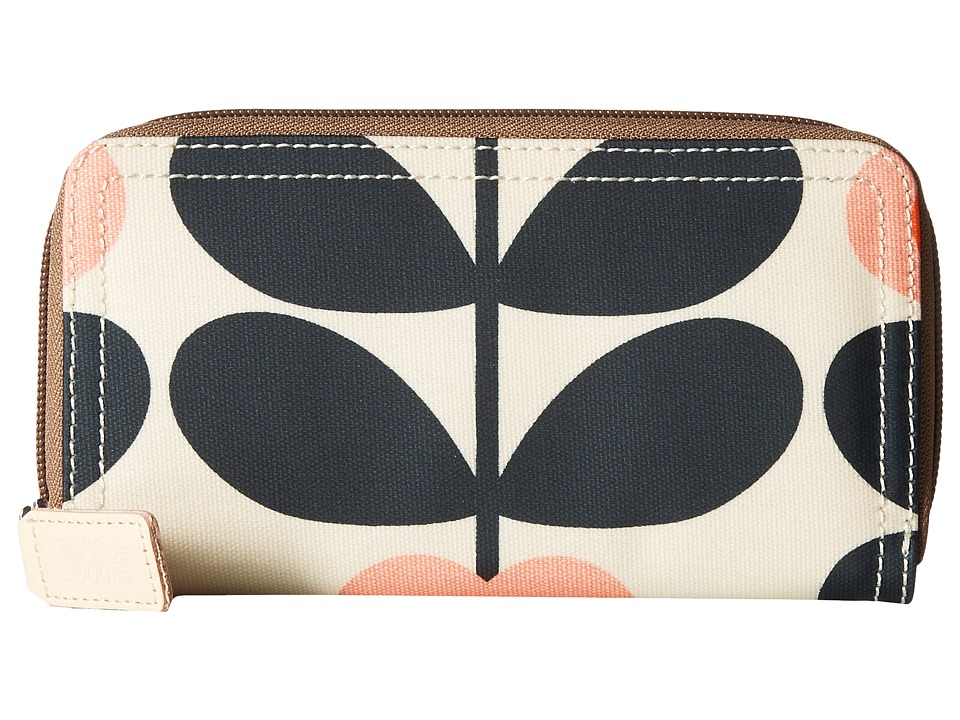 Orla Kiely - Summer Flower Stem Big Zip Wallet