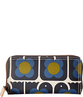 Orla Kiely - Love Birds Print Big Zip Wallet