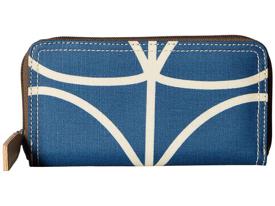 Orla Kiely Orla Kiely - Giant Linear Stem Big Zip Wallet