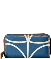 Orla Kiely - Giant Linear Stem Big Zip Wallet