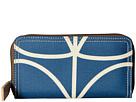Orla Kiely Giant Linear Stem Big Zip Wallet