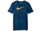 Nike Kids Dry LunarFly Droptail Tee (Little Kids/Big Kids)
