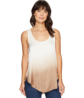 HEATHER - Ombre Scoop Tank Top