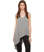 HEATHER - Asymmetrical V-Neck Tank Top