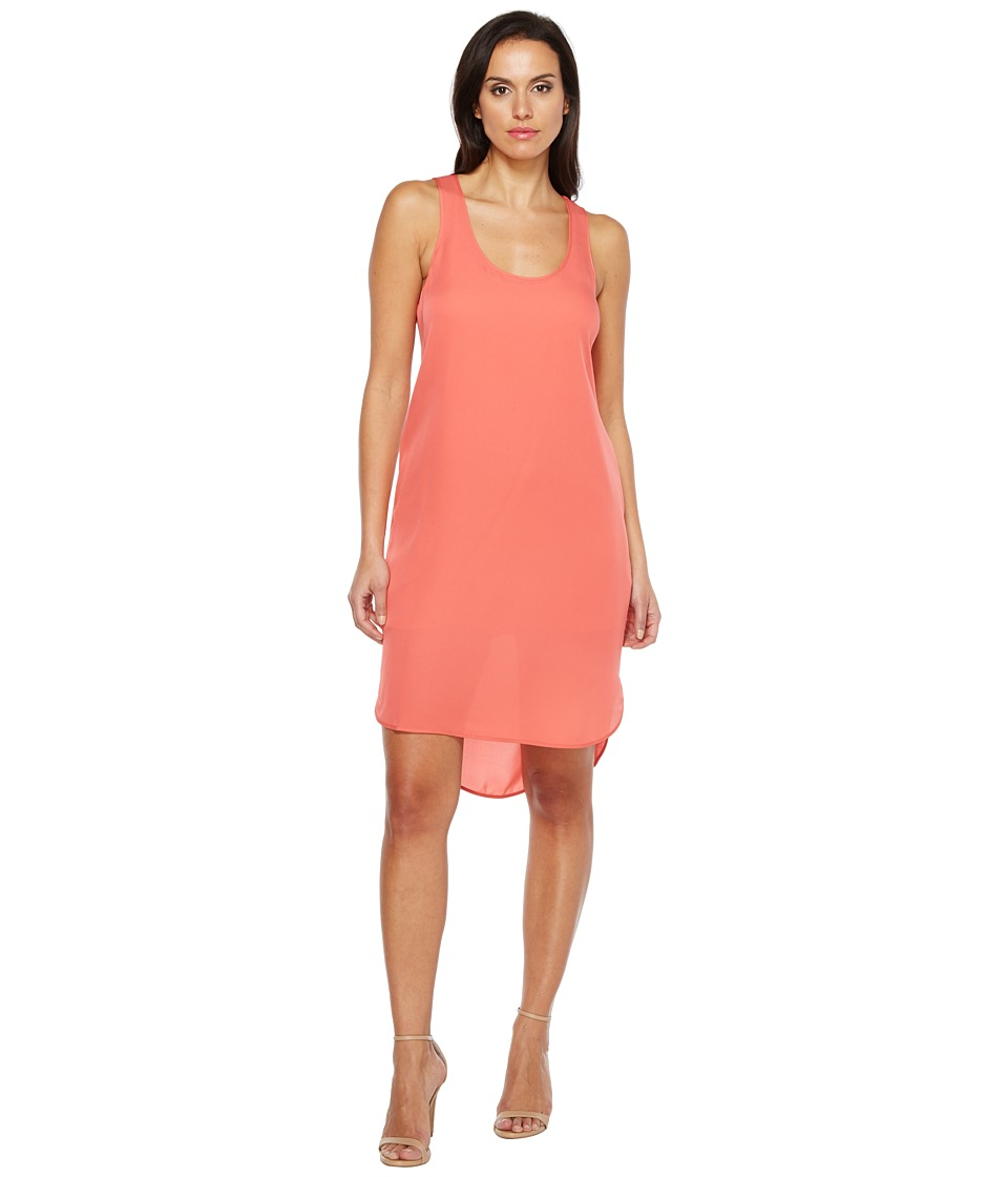 HEATHER - Silk Scoop Tank Dress