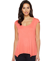HEATHER - Sleeveless Raglan Swing Top