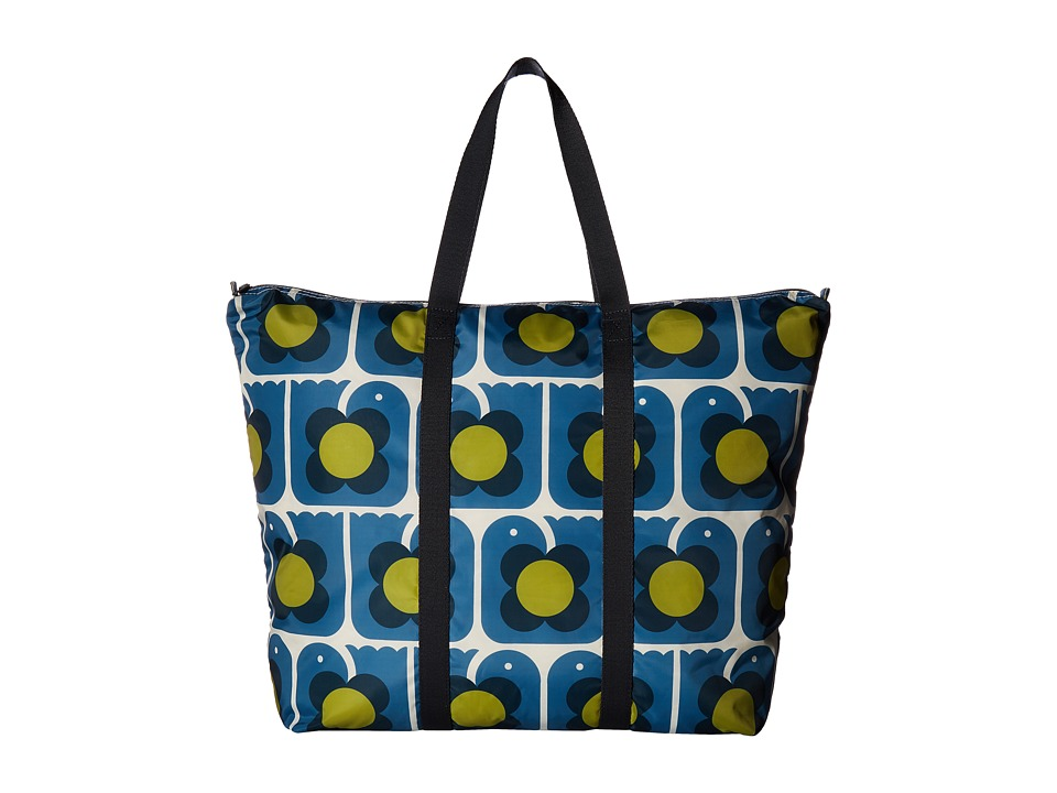 Orla Kiely Orla Kiely - Love Birds Print Foldaway Travel Bag