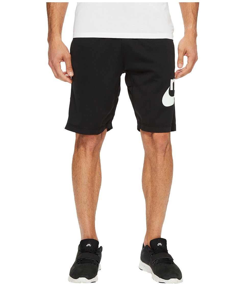 Nike SB SB Dry Graphic Short (Black/Barely Green) Men