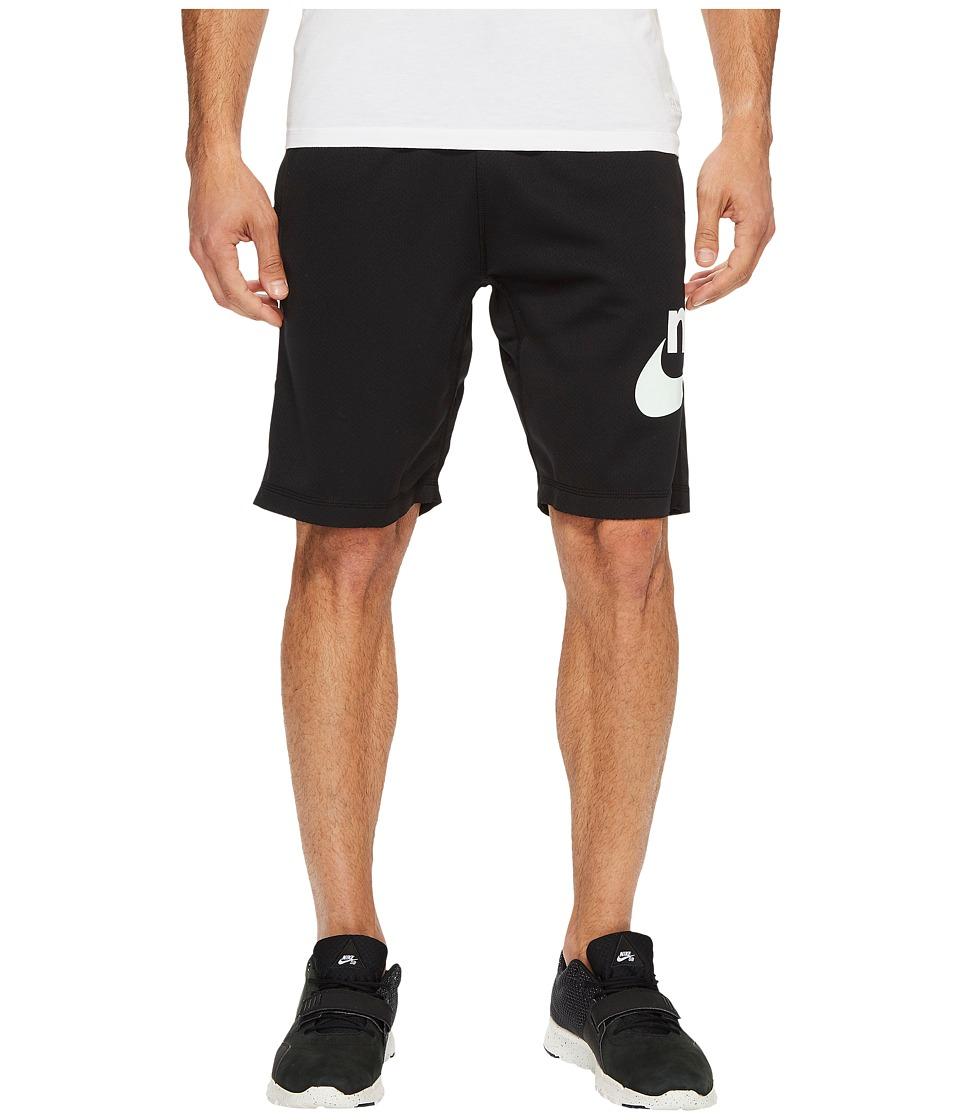 Nike SB SB Dry Graphic Short (Black/Barely Green) Men