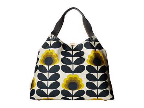 Orla Kiely Summer Flower Stem Large Holdall - Sunshine