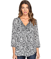 NYDJ - Mixed Print Peasant Blouse