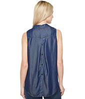 NYDJ - Indigo Tencel Sleeveless Top