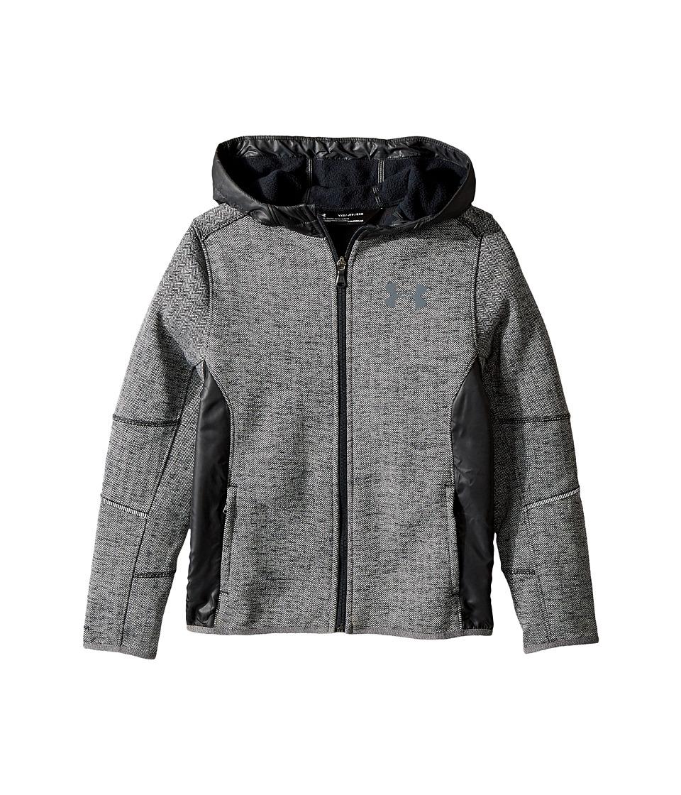 Under Armour Kids - UA Swacket Full Zip (Big Kids) (Black/Black 1) Boys Clothing