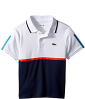 Lacoste Kids - Sport Color Block Ultradry Polo (Little Kids/Big Kids)