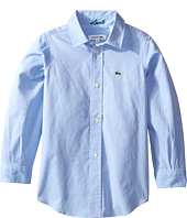 Lacoste Kids - Long Sleeve Classic Oxford Shirt (Little Kids/Big Kids)