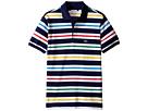Lacoste Kids - Short Sleeve Multicolor Stripe Polo (Infant/Toddler/Little Kids/Big Kids)