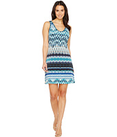 Karen Kane - Batik Stripe Brigitte Dress