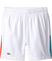 Lacoste Kids - Taffeta Shorts with Stripe (Little Kids/Big Kids)