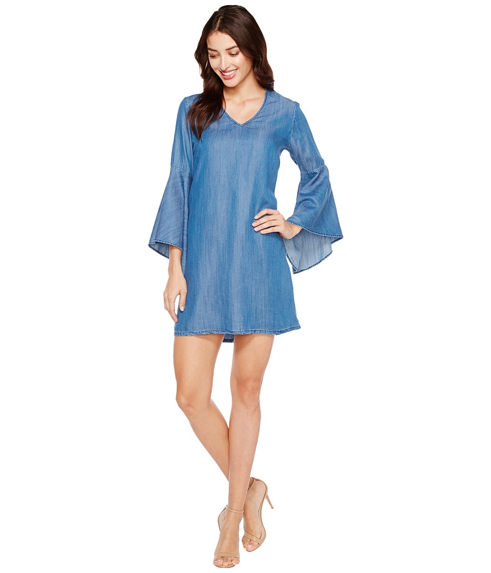 Karen Kane Karen Kane - V-Neck Bell Sleeve Dress