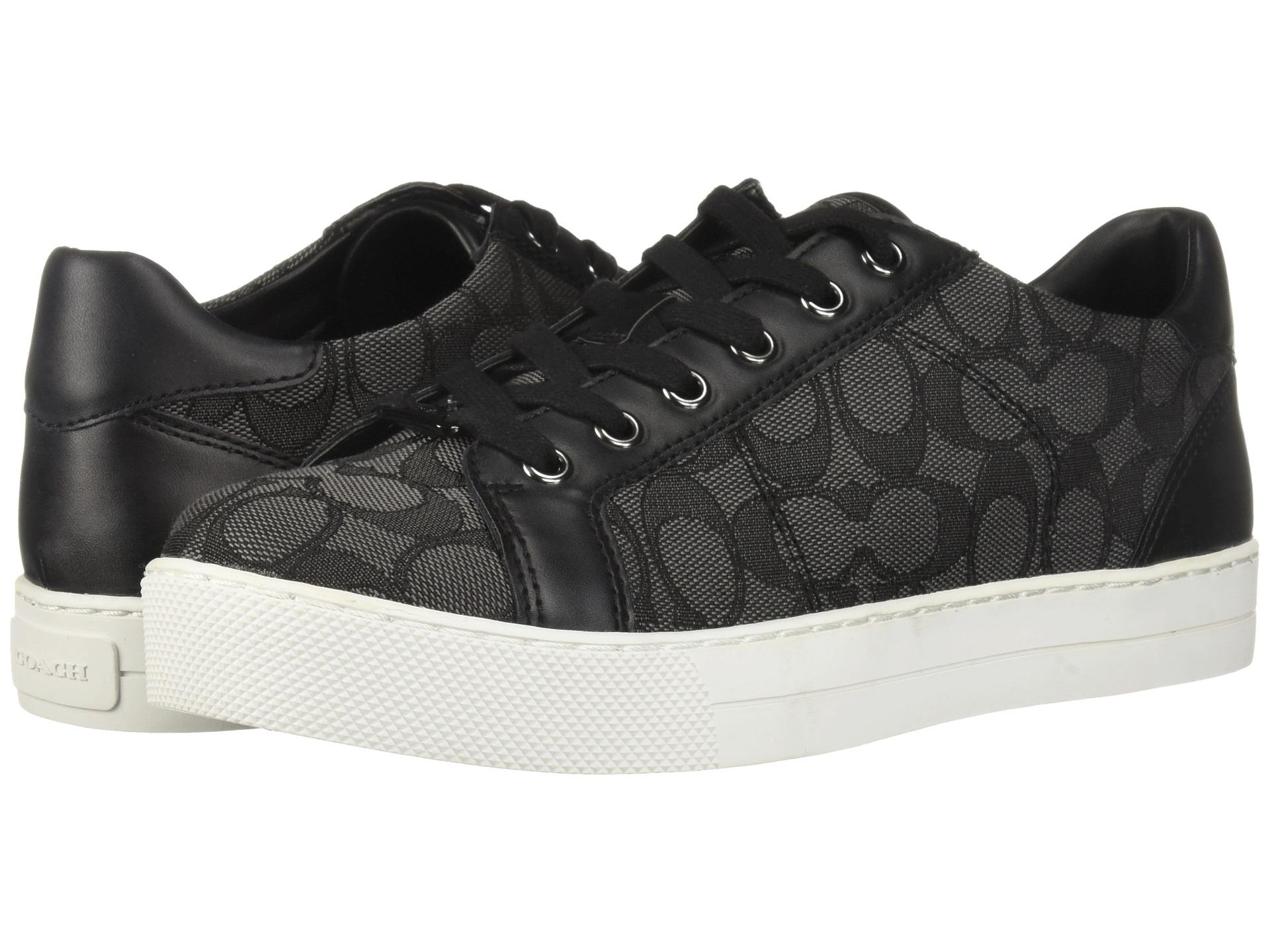 코치 패디 스니커즈 시그니처 블랙 COACH Paddy Sneakers Black