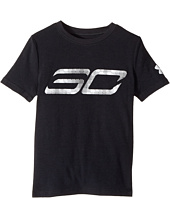 Under Armour Kids - Steph Curry 30 Logo Short Sleeve Tee (Big Kids)