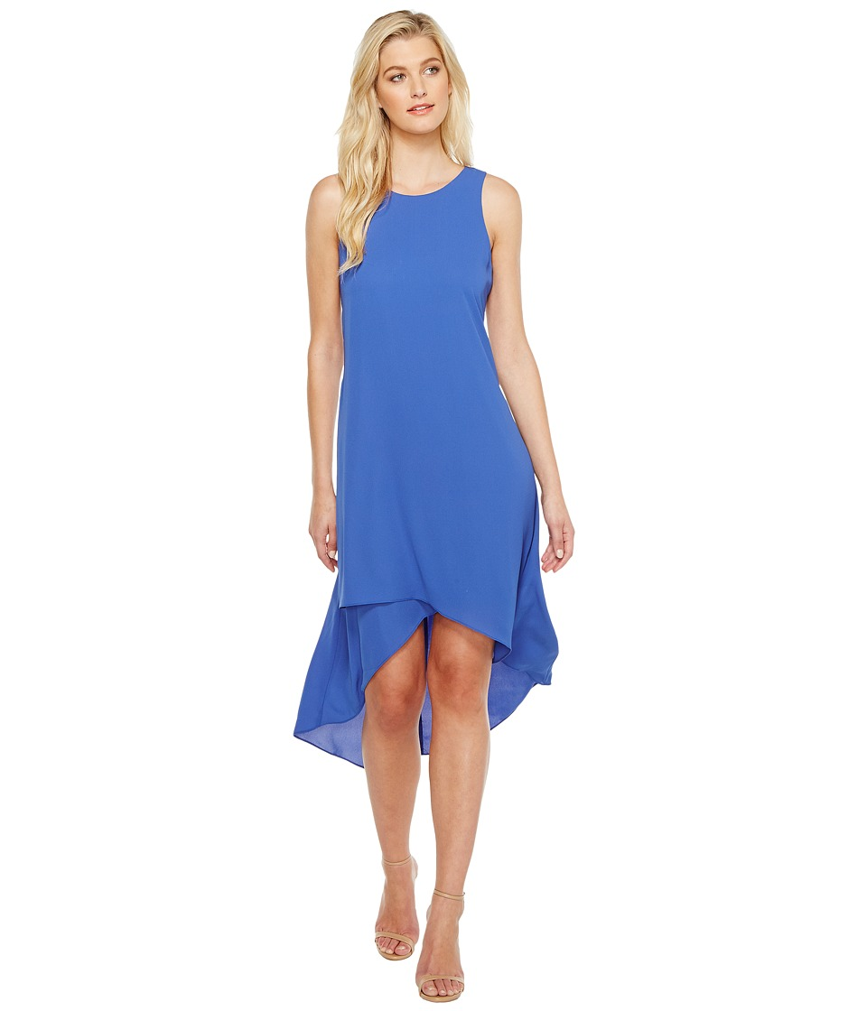 Karen Kane Asymmetric Hi Lo Dress (Iris) Women