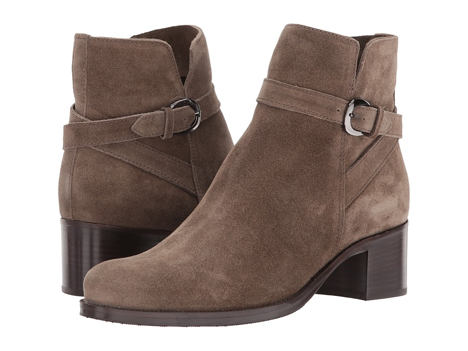 La Canadienne Pru (Stone Oiled Suede) Women