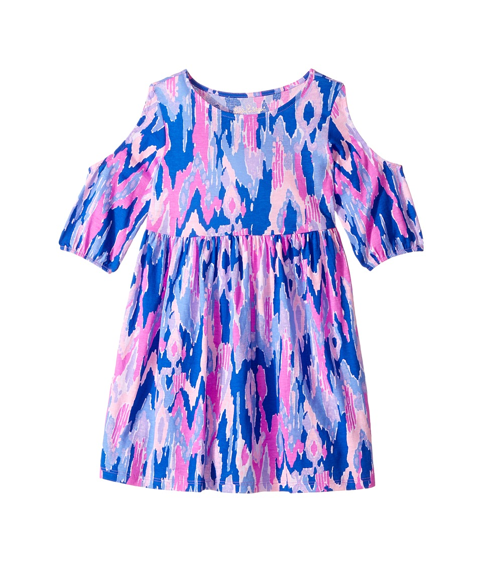 Lilly Pulitzer Kids Linn Dress (Toddler/Little Kids/Big Kids) (Amethyst One Too Many) Girl