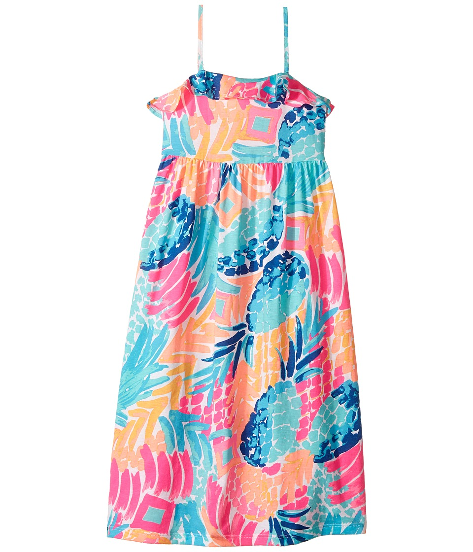 Lilly Pulitzer Kids Chasteen Dress (Toddler/Little Kids/Big Kids) (Multi Goombay Smashed Reduced) Girl