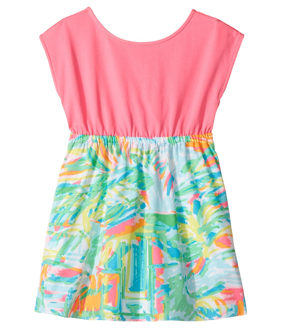Lilly Pulitzer Kids Caila Dress (Toddler/Little Kids/Big Kids) (Multi Sea Salt and Sun) Girl
