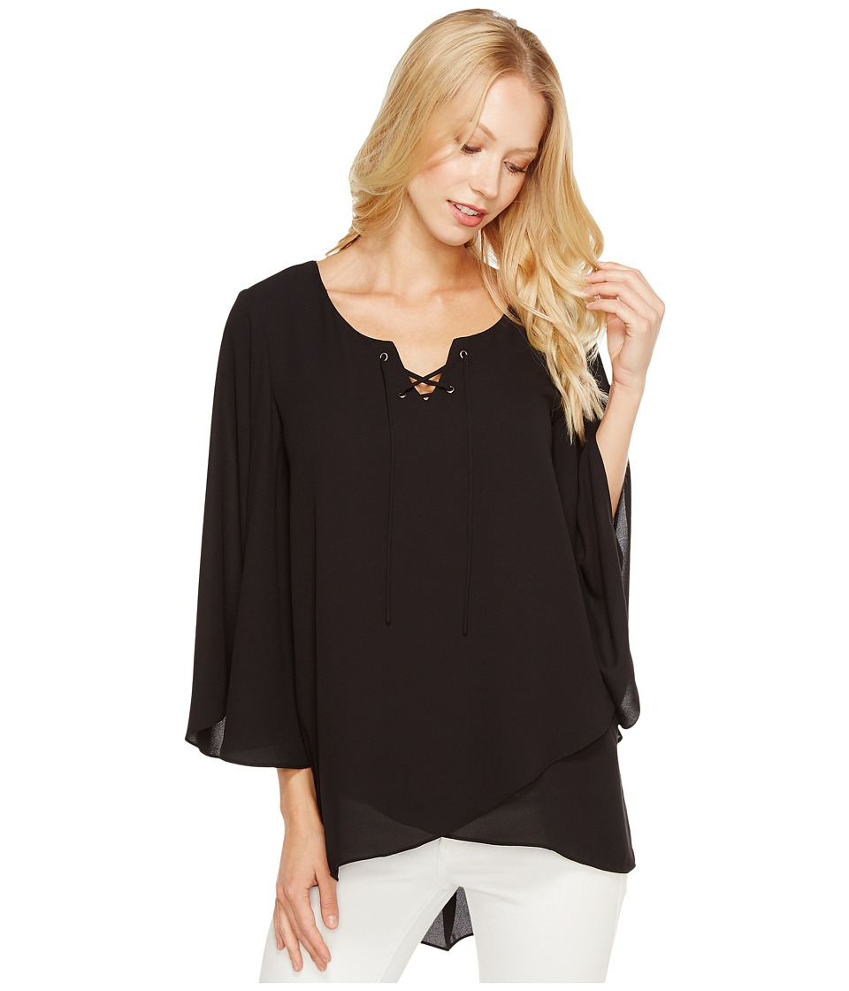 Karen Kane - Crossover Flare Sleeve Top